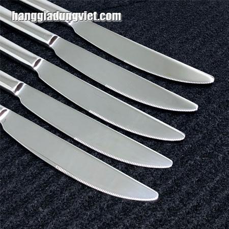 combo 10 dao inox can tron sang trong