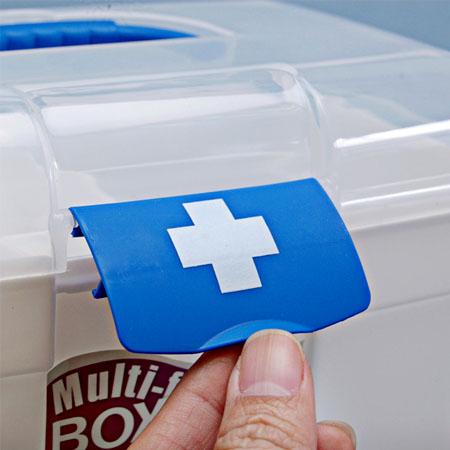 hộp đựng dụng cụ y tế gia đình tiện dụng